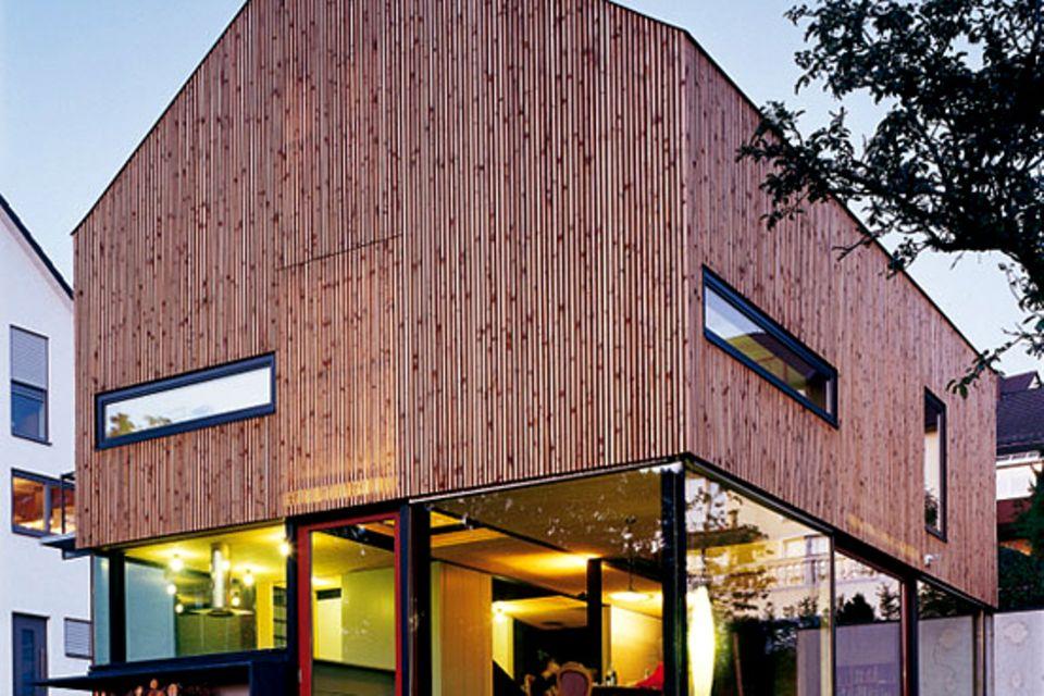 Einfamilienhaus aus Holz