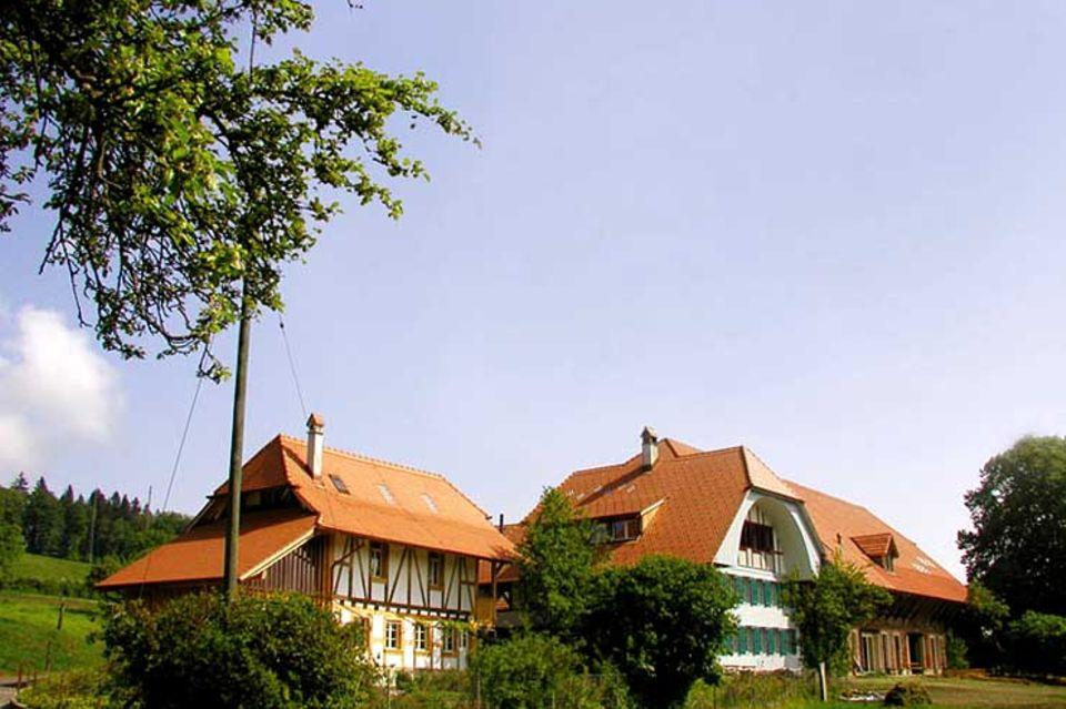 Renovierter Bauernhof mit Fachwerk