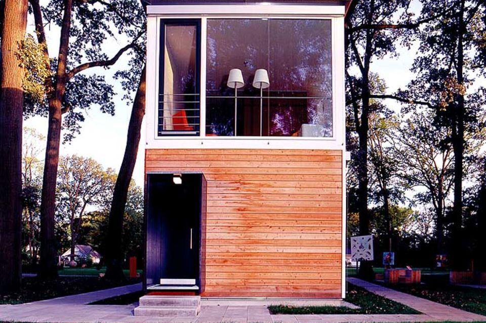 Wohnhaus in Modulbauweise