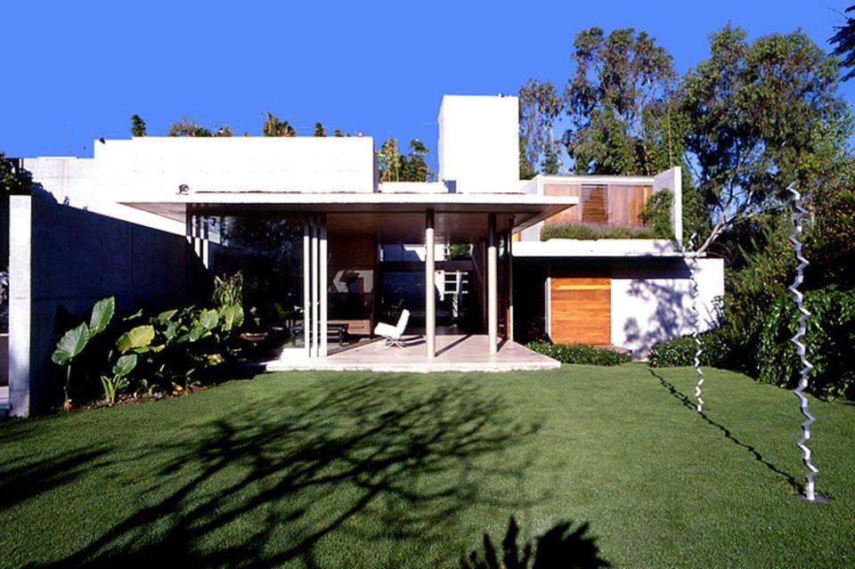Wohnhaus aus Beton