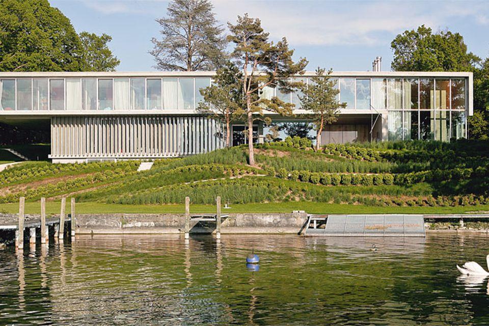 Elegante Villa am Genfer See