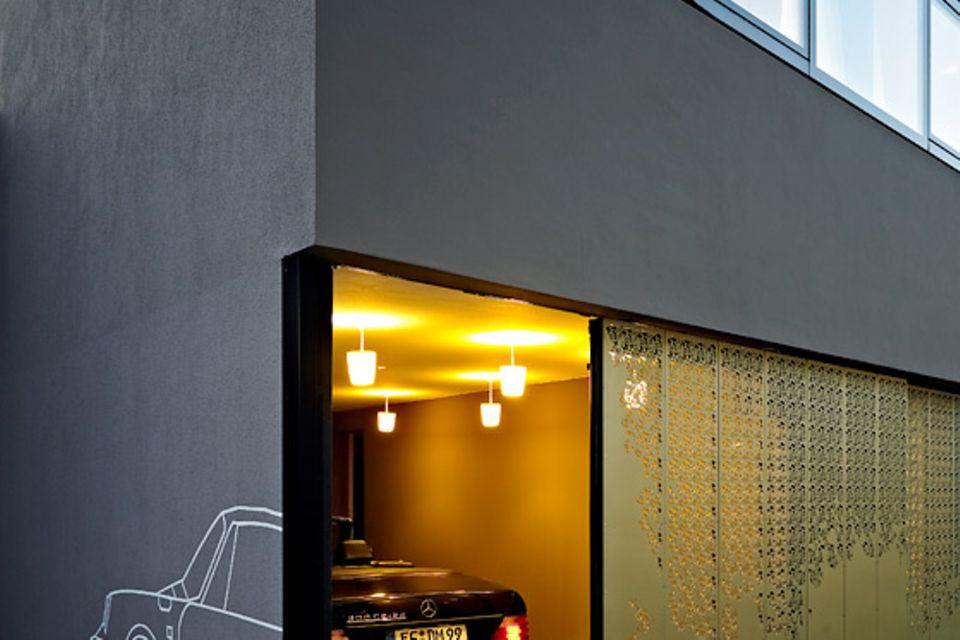 Architektenhäuser: Wohnkubus in Altstadtlage