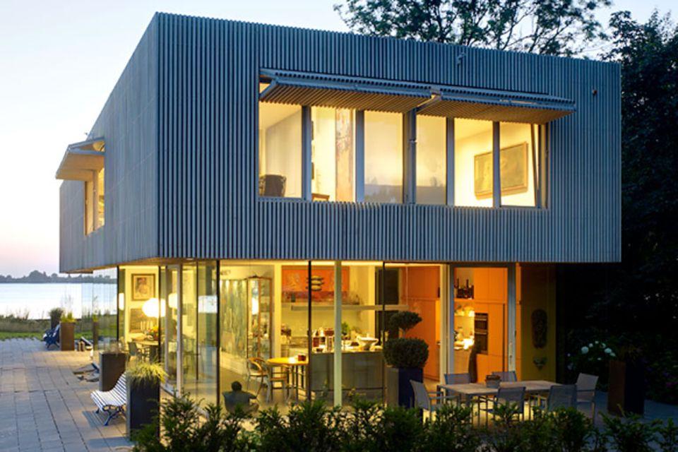 Eine Villa als Rahmen für die Kunst