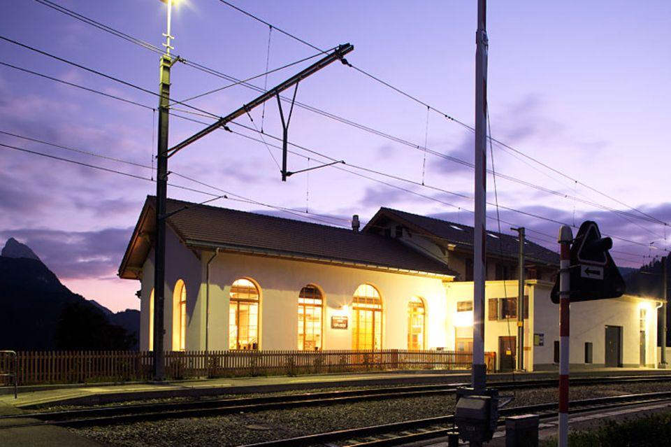 Architektenhäuser: Ehemaliger Bahnhof als Feriendomizil