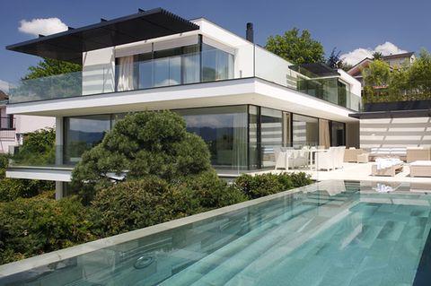 Architektenhäuser: Villa am Zürichsee