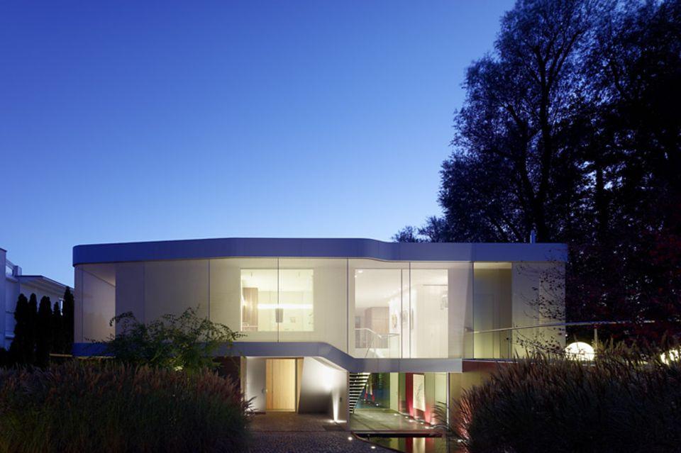 Architektenhäuser: Villa mit flexiblem Grundriss