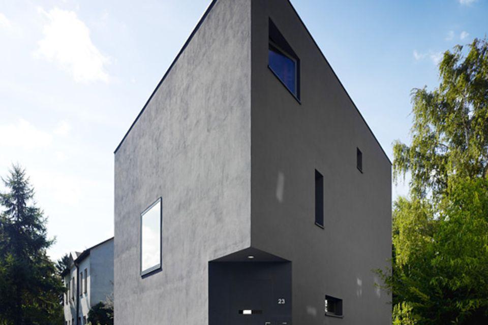 Architektenhäuser: Stadthaus auf kleinem Grund