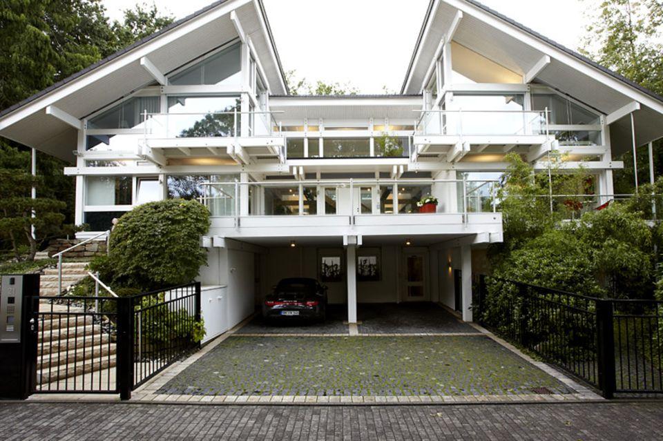 Hersteller: Huf-Haus: Glashaus im Park
