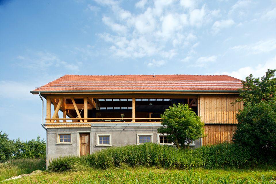 Architektenhäuser: Umgebaute Scheune