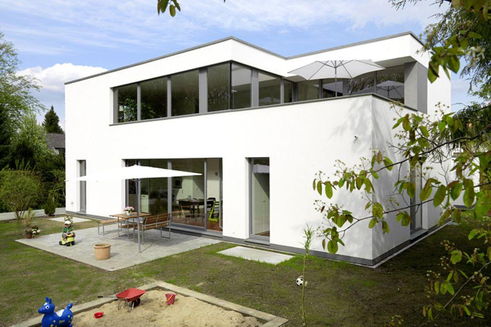 Hersteller: Weber: Fertighaus im Bauhausstil