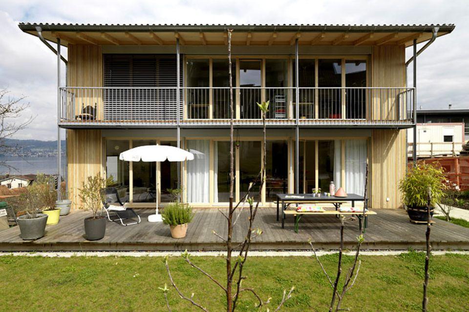 Hersteller: Platz: Fertighaus am Zürichsee