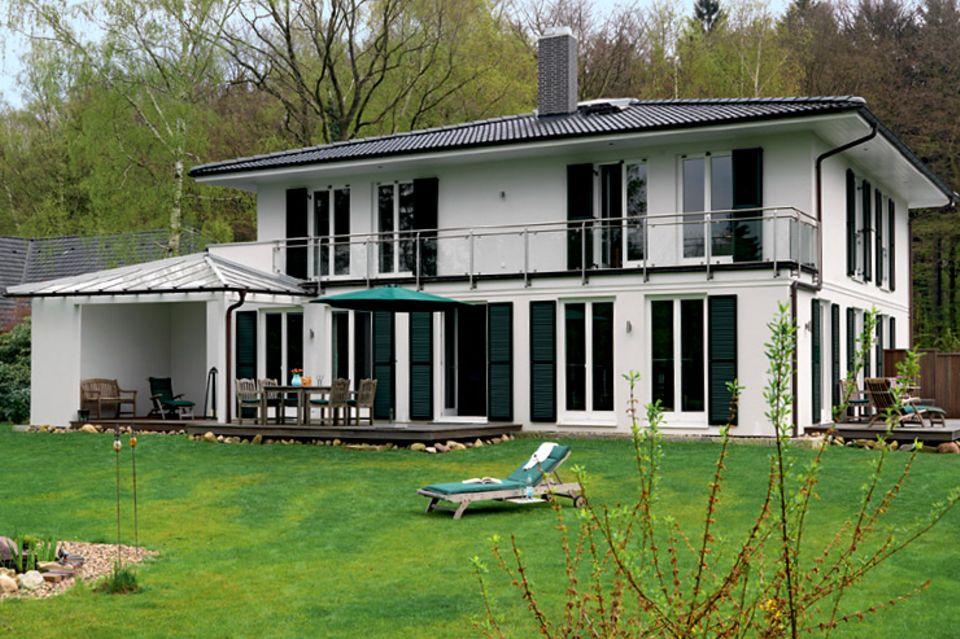 Hersteller: Bien-Zenker: Vornehme Villa als Fertighaus