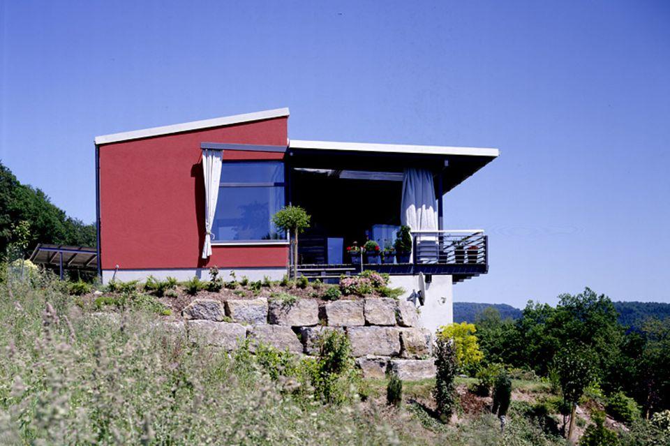 Hersteller: Hanse Haus: Fertighaus mit Flachdach