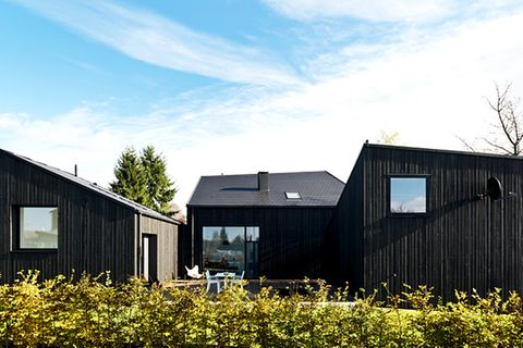 Architektenhäuser: Neubau aus drei Baukörpern