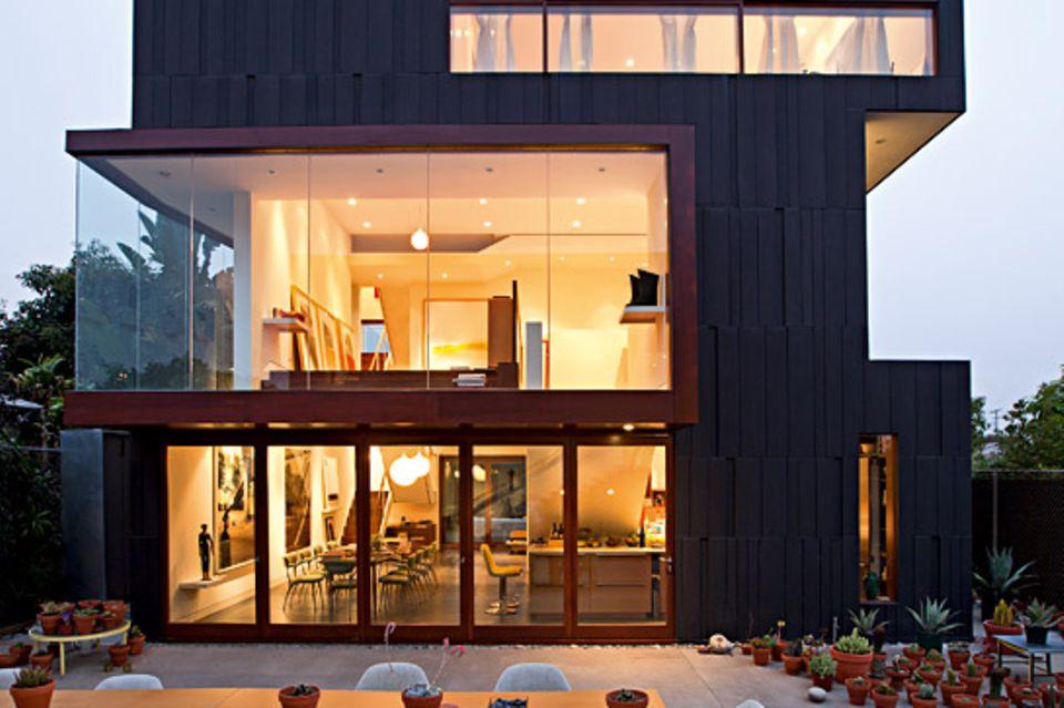 Architektenhäuser: Wohn- und Atelierhaus in Los Angeles