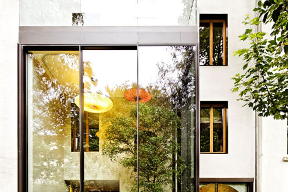 Architektenhäuser: Umbau zum modernen Stadthaus