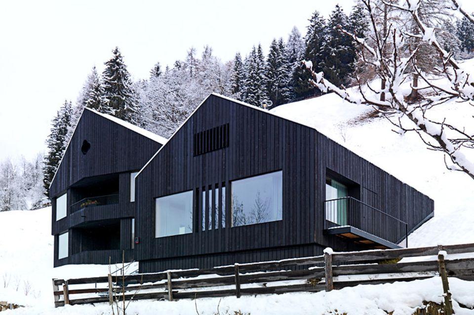 Architektenhäuser: Hanghaus als Gebäude-Ensemble