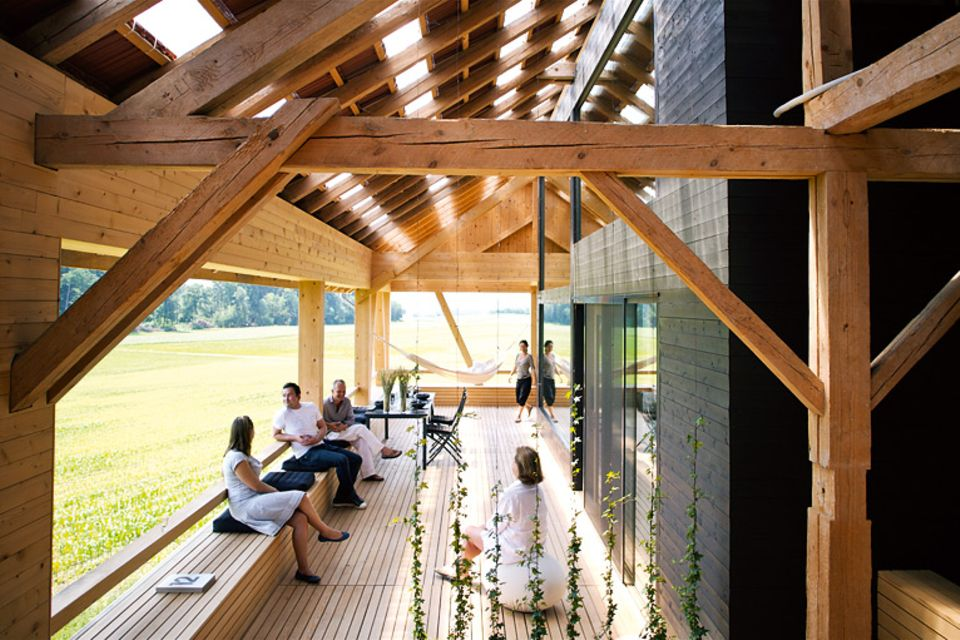 Umbau von Architektenhäusern