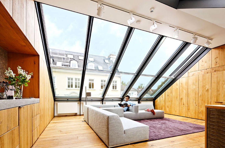 Bei Umbau: Atelierfenster bringen Licht