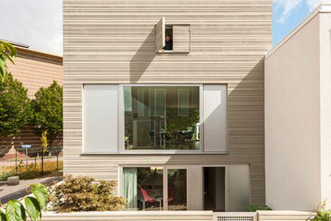 Stadthaus; Architektenhaus; Außenansicht; GAAGA Studio for Architecture