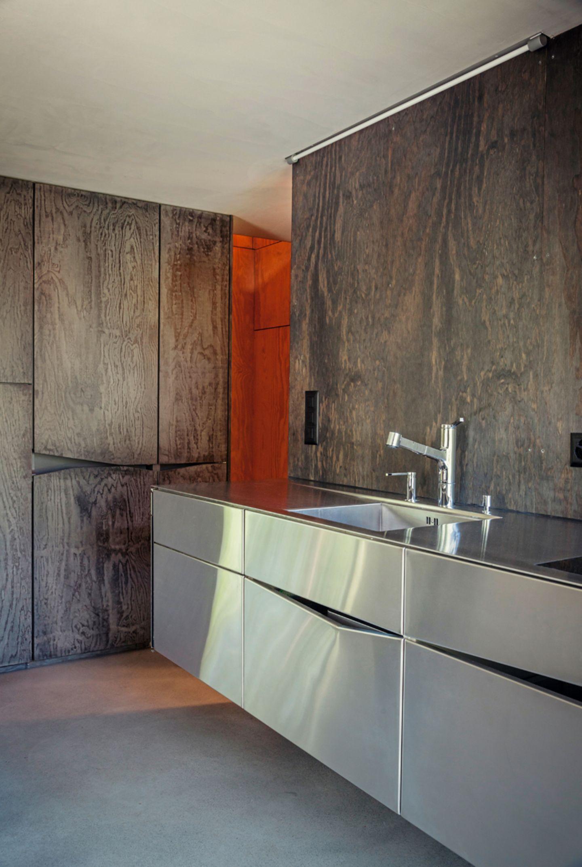 Küche; Architektenhaus; Savioz Fabrizzi Architectes