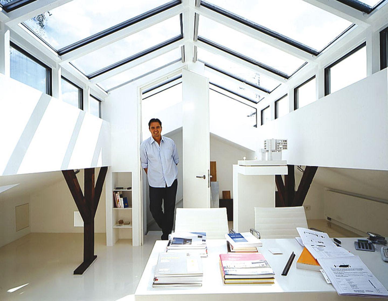 Büro unterm Dach