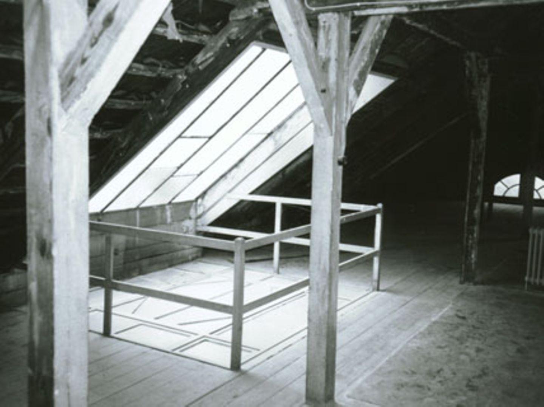 Vorher: Bodenraum erweitert Wohnfläche