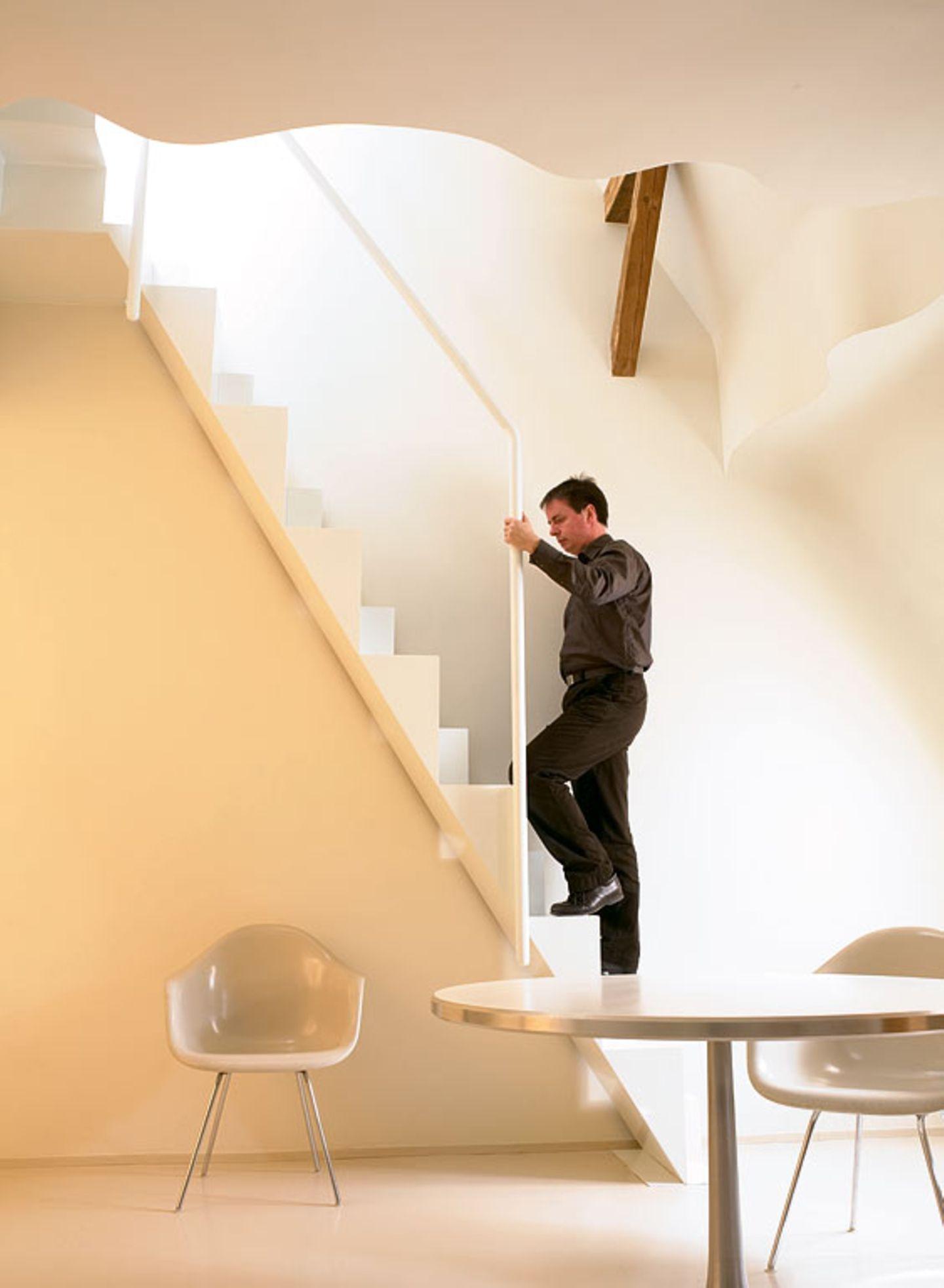 Treppe für kleine Räume