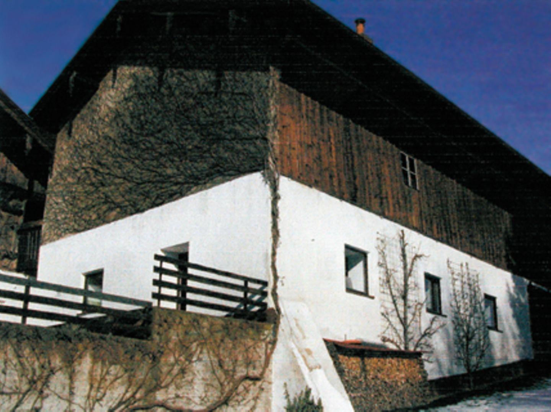Vorher: Denkmalschutz für Balken und Fassade
