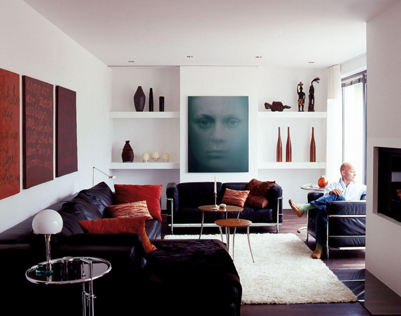 Nachher: Möbelklassiker und Kunst