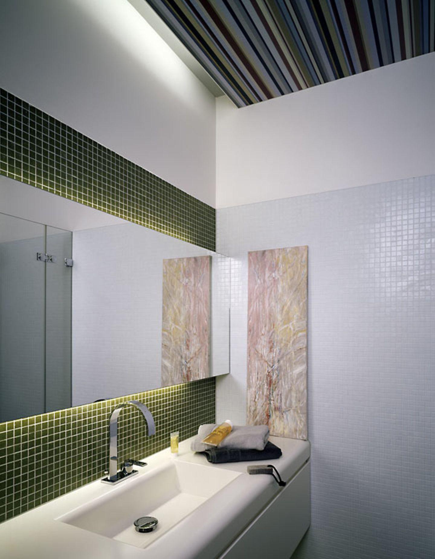 Frische Farbe fürs Bad