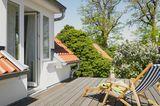 Terrasse auf neuem Anbau