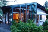Nachher: Bungalow mit Wintergarten