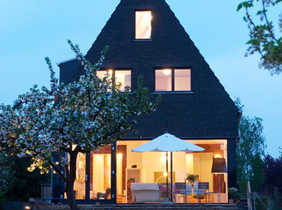 Terrasse als Verlängerung des Wohnzimmers