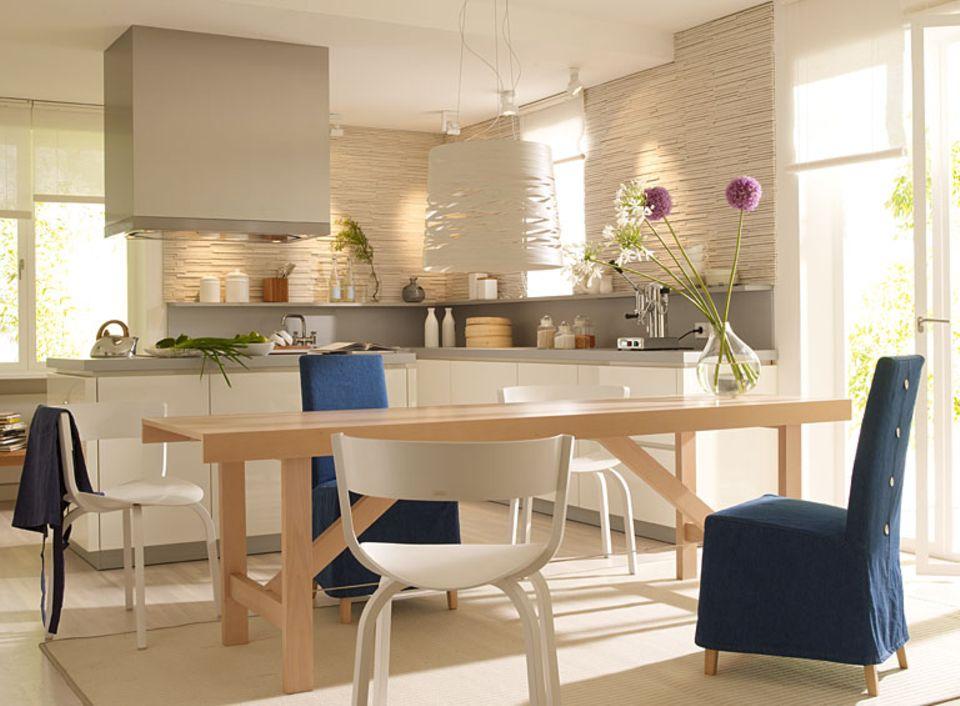 Offene Wohnküche planen