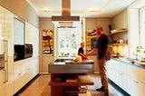 Terrazzoboden in der Küche