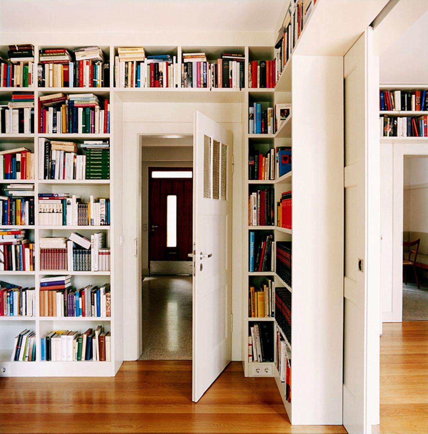 Wohnzimmer mit Eichendielen