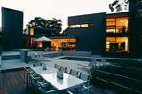 Terrasse mit verschiedenen Ebenen