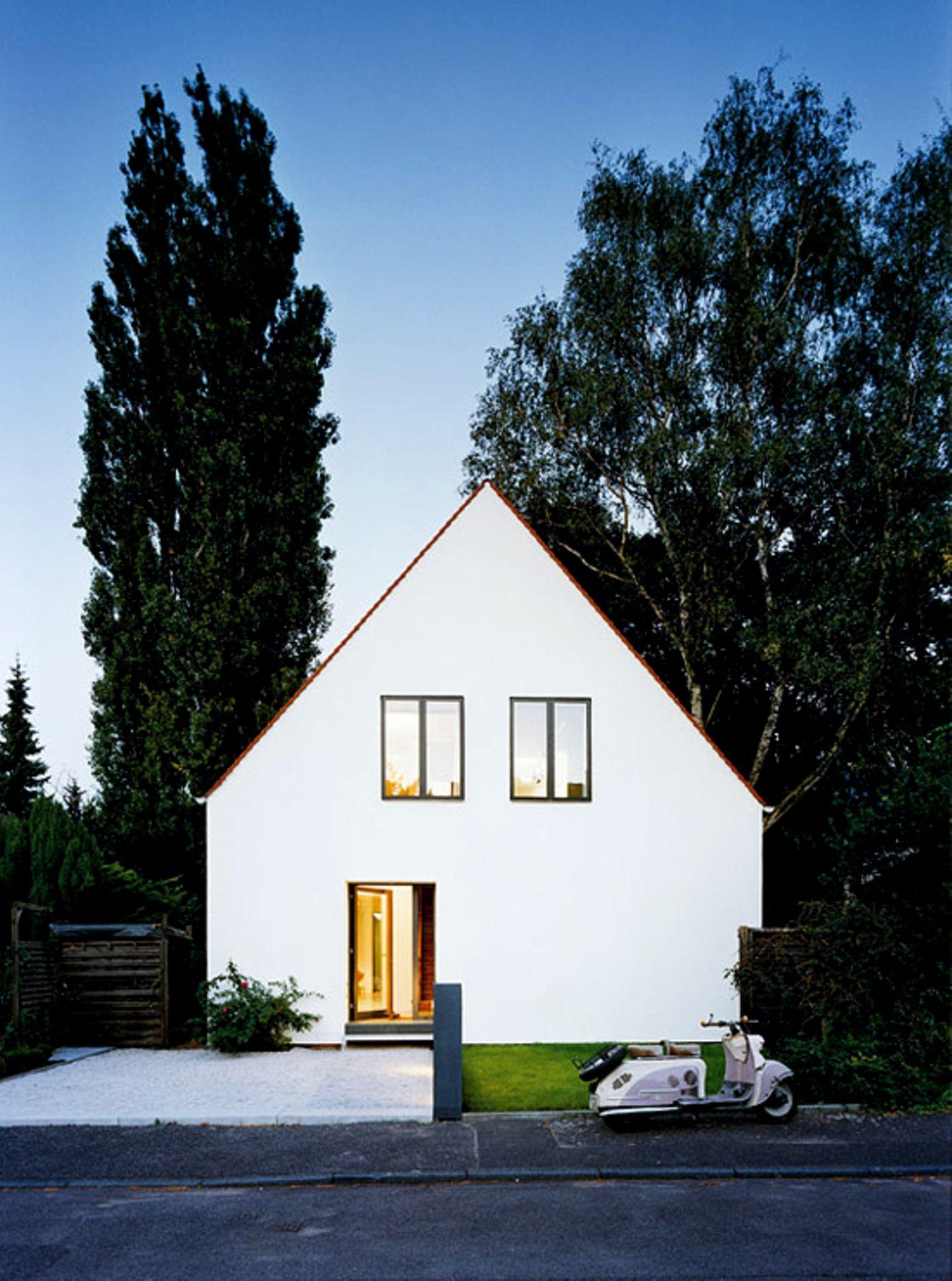 Schlicht-elegante Fassade