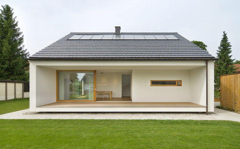 Gas und Solarthermie