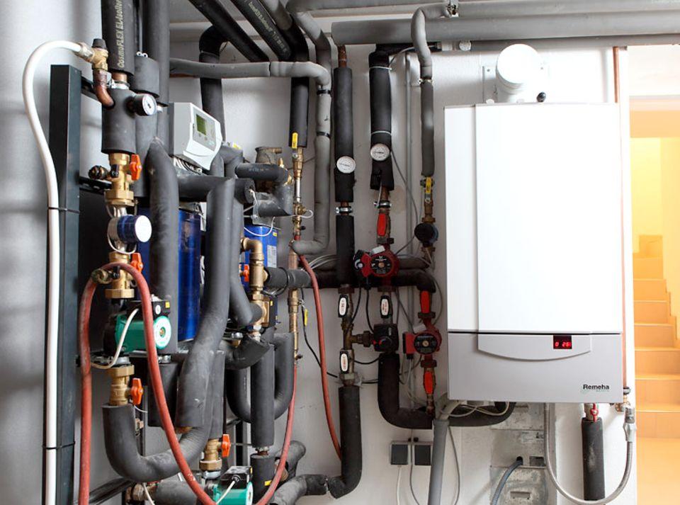 Die Technik im Energiesparhaus ist total clever – die regelt alles automatisch
