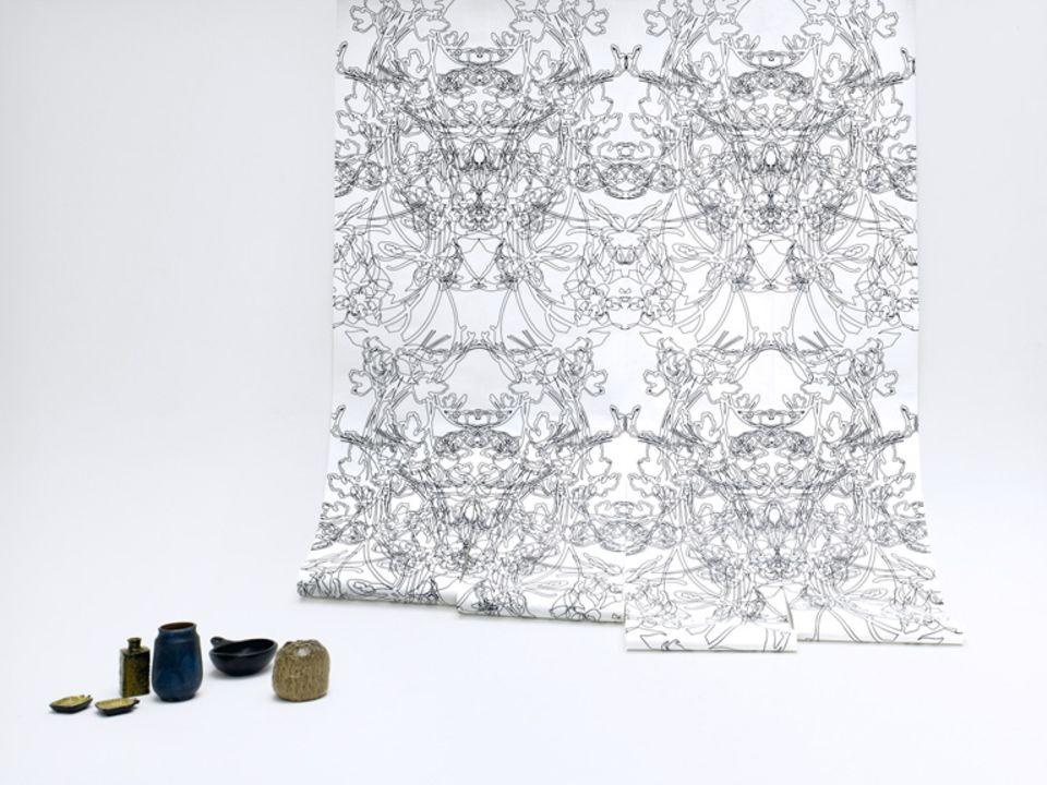 """Tapeten """"Wallpaper"""" von Iris Maschek"""
