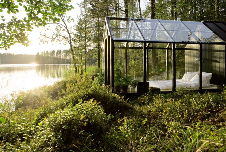 """Gartenhaus """"Garden Shed"""" von Kekkilä: Neuzeitliche Architektur für den Garten"""