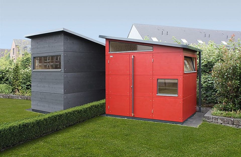 Gartenhaus aus Holz: Gartana liefert aktuelle Gartenhäuser in Größen von S bis XL