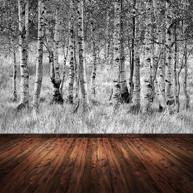 """Fototapete """"Wald"""" hat durch ihre Tiefe eine raumvergrößernde Wirkung."""