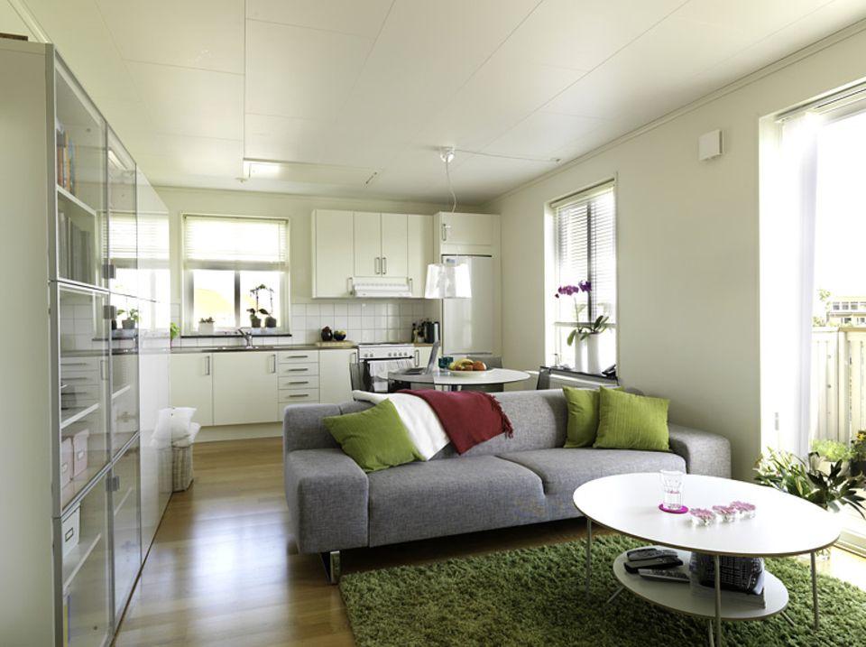 Schwedisches Ikea-Haus von innen