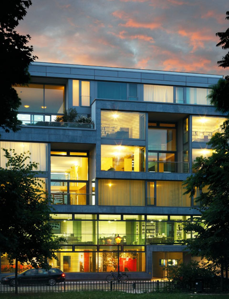 Baugruppenhaus Auguststraße in Berlin