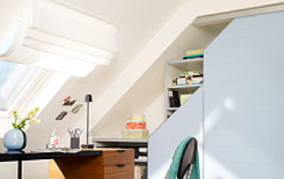 Die Dachschräge gestalten, streichen und weitere Ideen