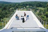 Eine Terrasse wie eine Aussichtsplattform