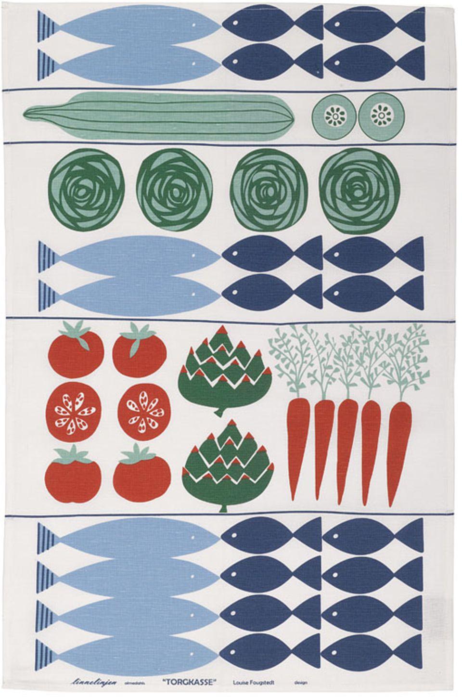 """Geschirrtuch """"Feine Fische"""" von New House Textiles"""